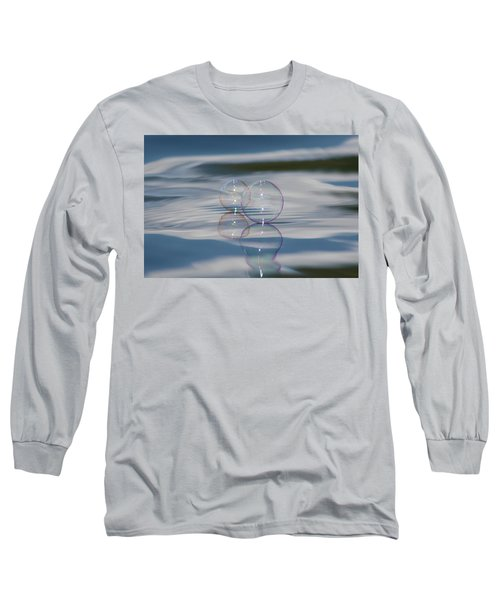 Long Sleeve T-Shirt featuring the photograph Magic On The Water by Cathie Douglas