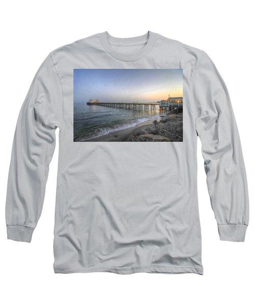 Malibu Pier Restaurant Long Sleeve T-Shirt