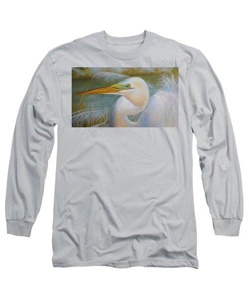 Marsh Master Long Sleeve T-Shirt by Marlyn Boyd