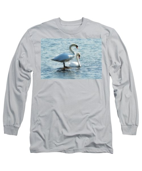 Mating Pair Long Sleeve T-Shirt by Andrea Kollo