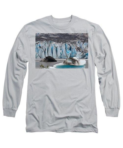 Mendenhall Glacier Juneau Alaska 1698 Long Sleeve T-Shirt