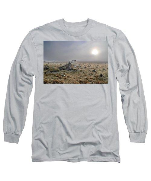 Misty Sunrise Long Sleeve T-Shirt