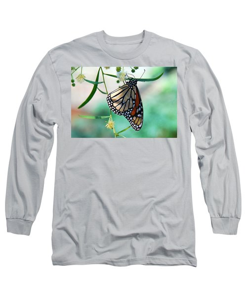 Long Sleeve T-Shirt featuring the photograph Monarch by Tam Ryan