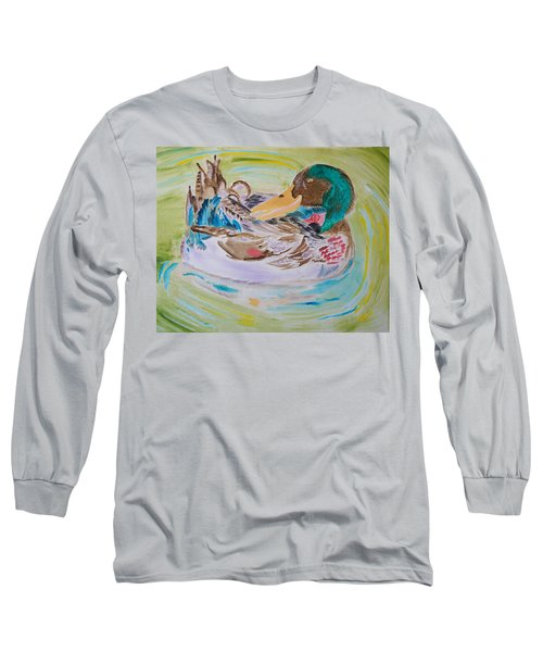 Nature's Music Long Sleeve T-Shirt by Meryl Goudey