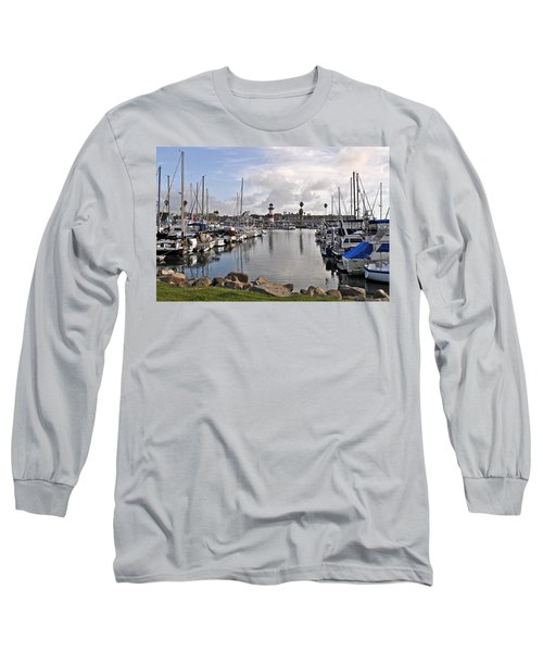Oceaside Harbor Long Sleeve T-Shirt