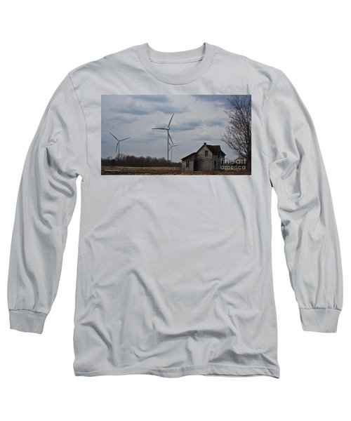 Long Sleeve T-Shirt featuring the photograph Old And New by Barbara McMahon
