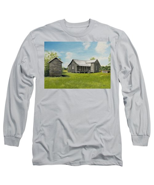 Old Clark Home Long Sleeve T-Shirt