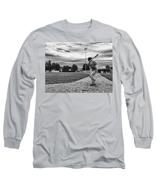 Long Sleeve T-Shirt featuring the photograph On Deck by Tom Gort