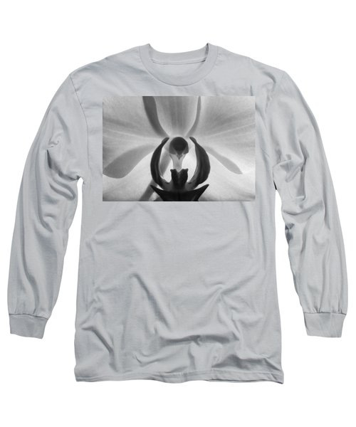Orchid Heart Long Sleeve T-Shirt by Kume Bryant