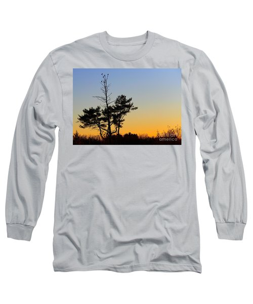 Long Sleeve T-Shirt featuring the photograph Out On A Limb by Davandra Cribbie
