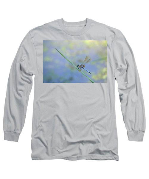 Long Sleeve T-Shirt featuring the photograph Perched Dragon by JD Grimes
