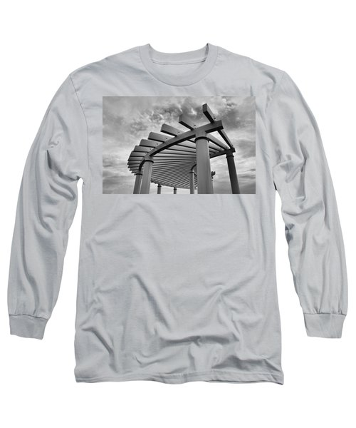 Long Sleeve T-Shirt featuring the photograph Pergola by Brian Hughes
