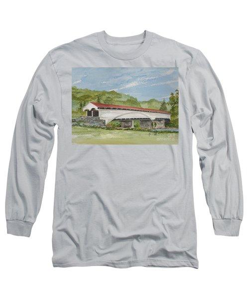Philippi Covered Bridge  Long Sleeve T-Shirt