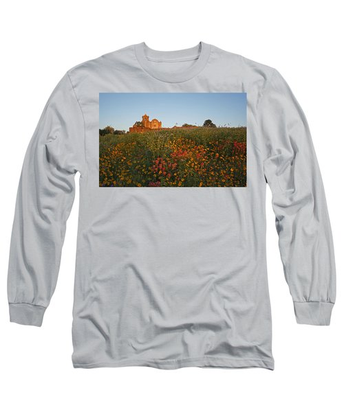 Presidio La Bahia 3 Long Sleeve T-Shirt by Susan Rovira