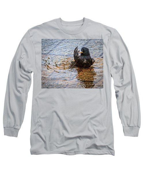 Public Bathing Long Sleeve T-Shirt