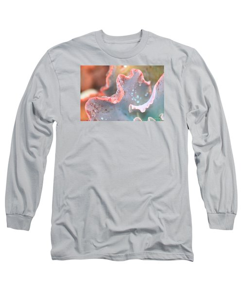Long Sleeve T-Shirt featuring the photograph Rain Drops Of Colors by Amy Gallagher
