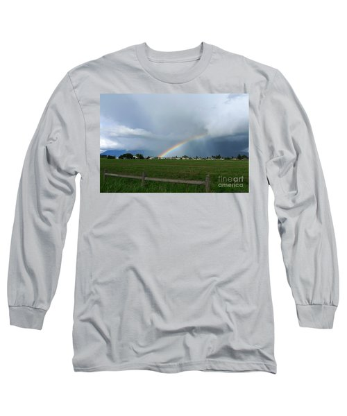 Rainbow Before The Storm Long Sleeve T-Shirt