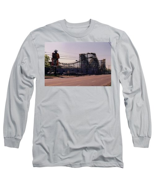 Ride It Cowboy Long Sleeve T-Shirt by Stacy C Bottoms