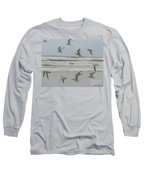 Long Sleeve T-Shirt featuring the photograph Riding The Wind by Donna Brown