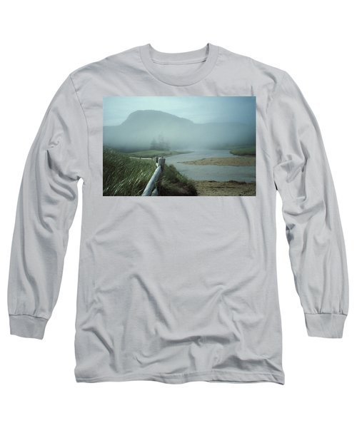 Sand Beach Fog Long Sleeve T-Shirt