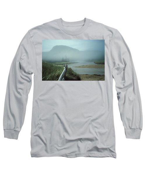 Sand Beach Fog Long Sleeve T-Shirt