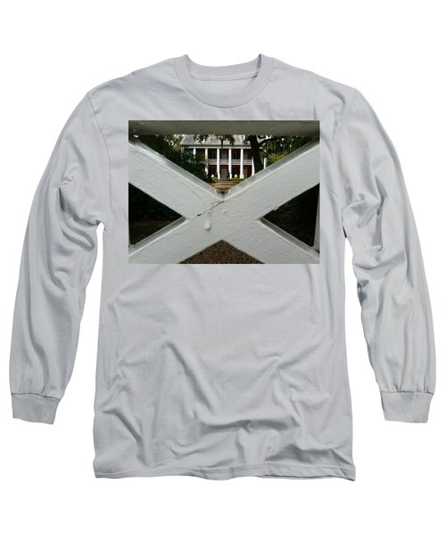 Shadows X On The Teche  Long Sleeve T-Shirt by Rdr Creative