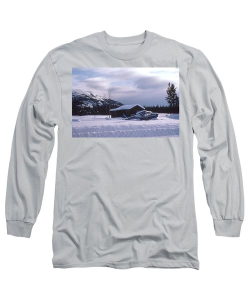 Long Sleeve T-Shirt featuring the photograph Anyone Got A Shovel? by Mark Alan Perry