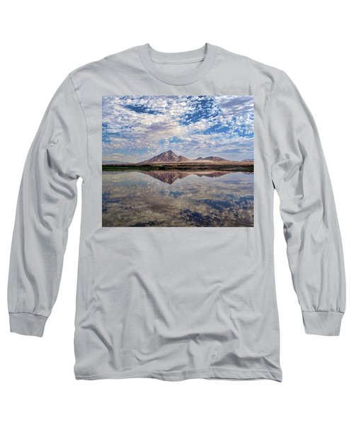 Long Sleeve T-Shirt featuring the photograph Skies Illusion by Tammy Espino