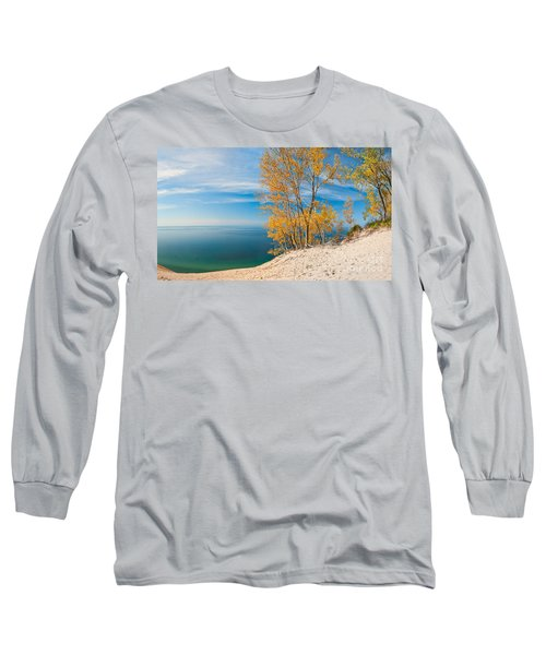 Sleeping Bear Dunes Vista 001 Long Sleeve T-Shirt