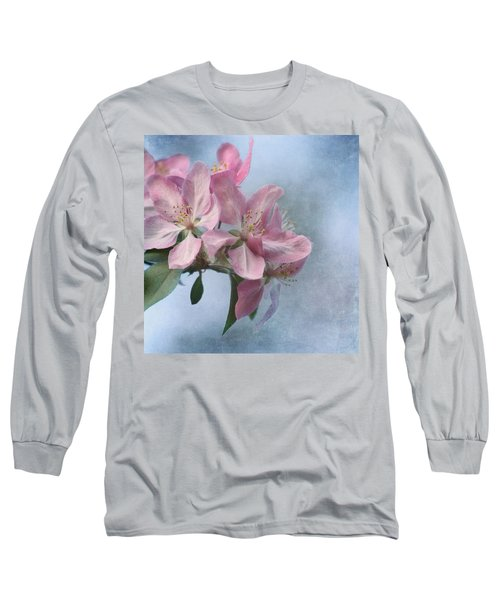 Spring Blossoms For The Cure Long Sleeve T-Shirt