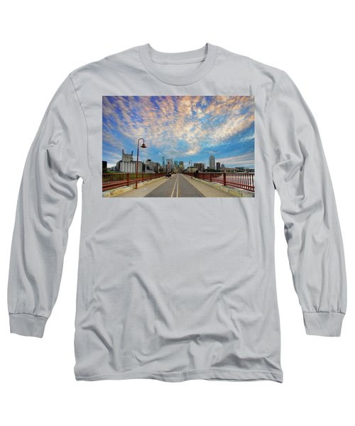 Stone Arch Bridge Long Sleeve T-Shirt