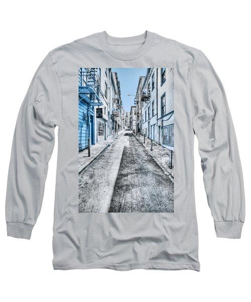 Telegraph Hill Blue Long Sleeve T-Shirt
