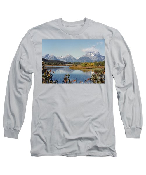Tetons Reflection Long Sleeve T-Shirt