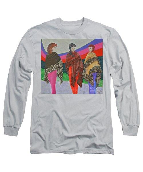 Three Women Long Sleeve T-Shirt