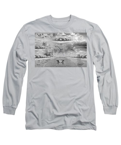 Tidal Pools Long Sleeve T-Shirt