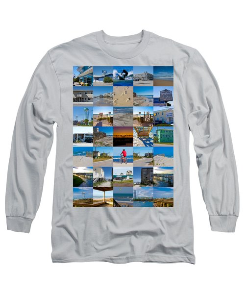 Topsail Visual Contemporary Quilt Series II Long Sleeve T-Shirt
