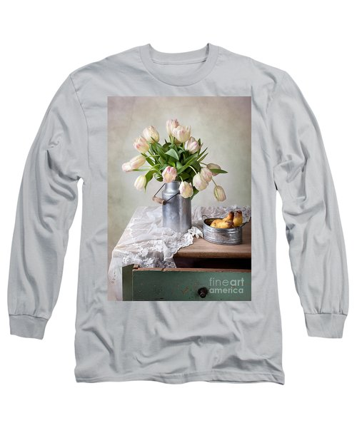 Tulips And Pears Long Sleeve T-Shirt