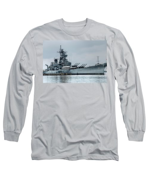 Uss New Jersey Long Sleeve T-Shirt