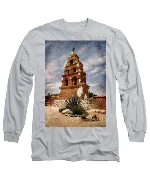 View Of The San Miguel Bell Tower Long Sleeve T-Shirt