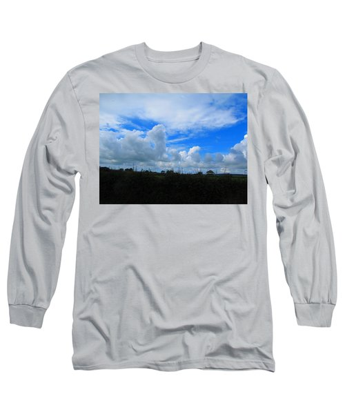 Welsh Sky Long Sleeve T-Shirt