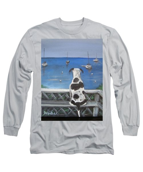 When My Ship Comes In Long Sleeve T-Shirt by Jan VonBokel