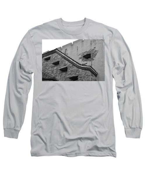 Windowed Wall Long Sleeve T-Shirt by Bonnie Myszka