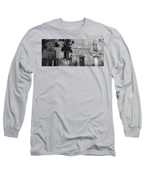 Long Sleeve T-Shirt featuring the photograph Crumbling In Croatia by Andy Prendy