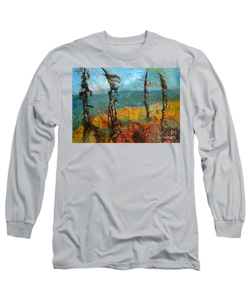 Windswept Pines Long Sleeve T-Shirt