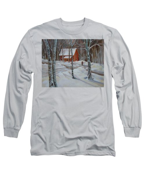 Winter In The Woods Long Sleeve T-Shirt