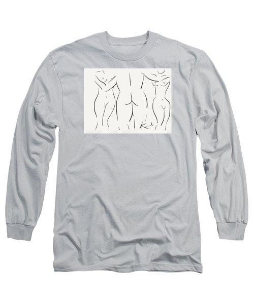 Le Fe'minin Sacre' Long Sleeve T-Shirt