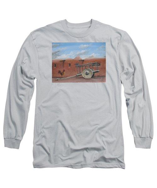 Old Spanish Cart  Long Sleeve T-Shirt by Oz Freedgood