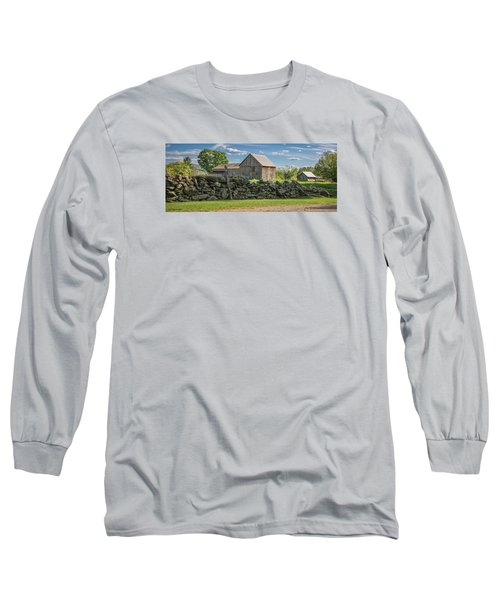 #0079 - Robert's Barn, New Hampshire Long Sleeve T-Shirt