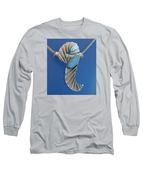 0468 Seahorse Long Sleeve T-Shirt by Dianne Brooks