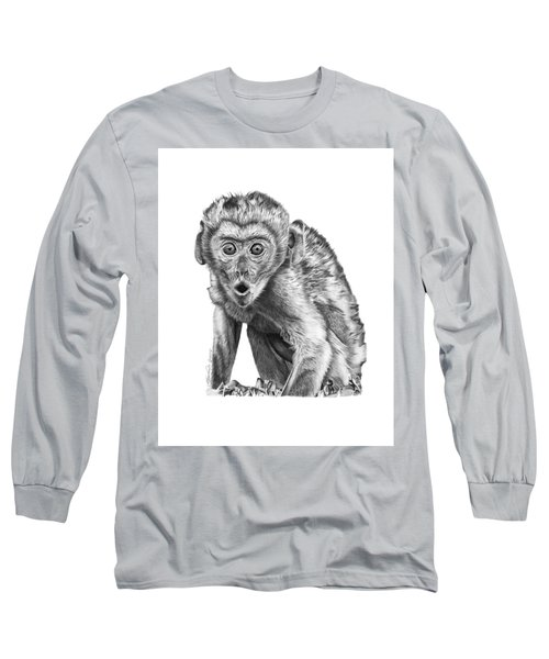 057 Madhula The Monkey Long Sleeve T-Shirt by Abbey Noelle